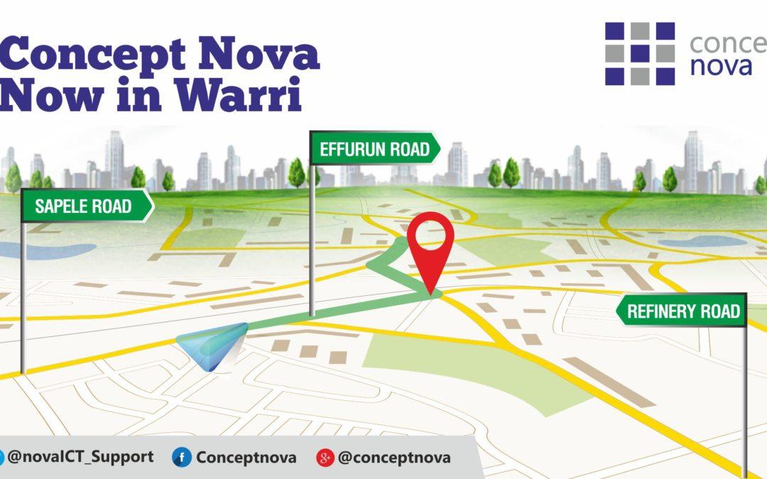 IT Solutions Company, Concept Nova is now in Warri