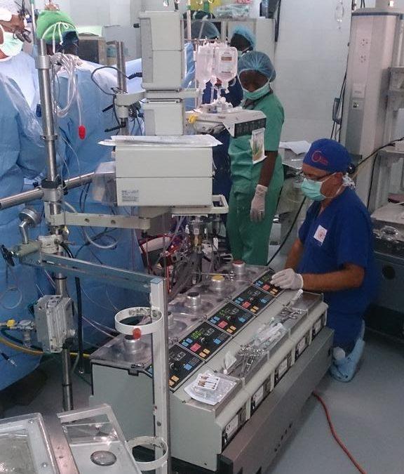 National Hospital, Abuja Live Tweets Open Heart Surgery