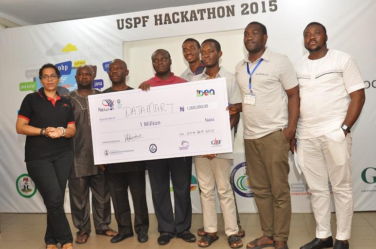 Team Data Mart emerge winner at USPF Hackathon 2015