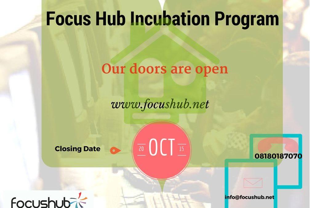 Niger-Delta Based Focus Hub Opens Incubation Program for Entrepreneurs and Startups