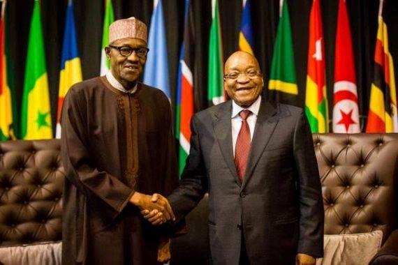 President Buhari set to meet South Africa's President over MTN's fine