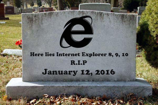 Good riddance: Microsoft is killing Internet Explorer 8, 9 and 10