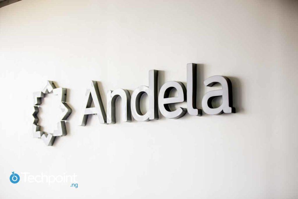 Andela logo (Andela Uganda launch)