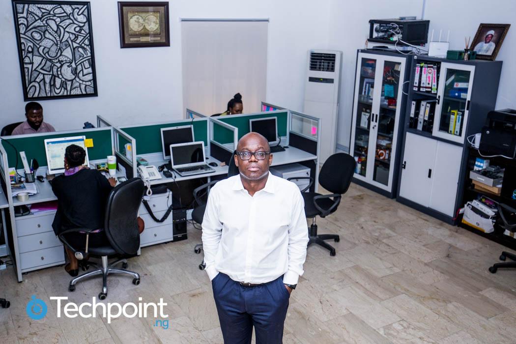 Aderemi Adejumo in his office