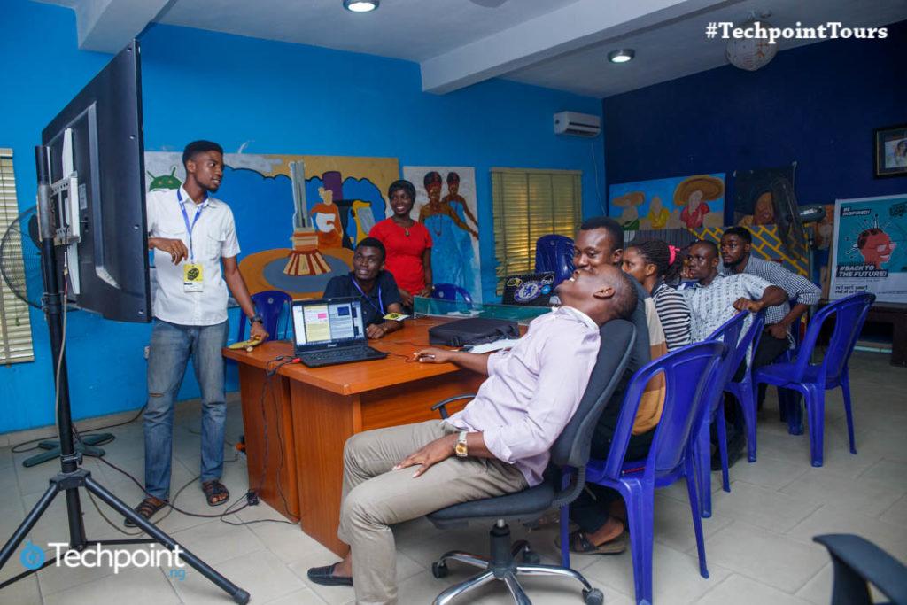 Root Hub Uyo with trainees