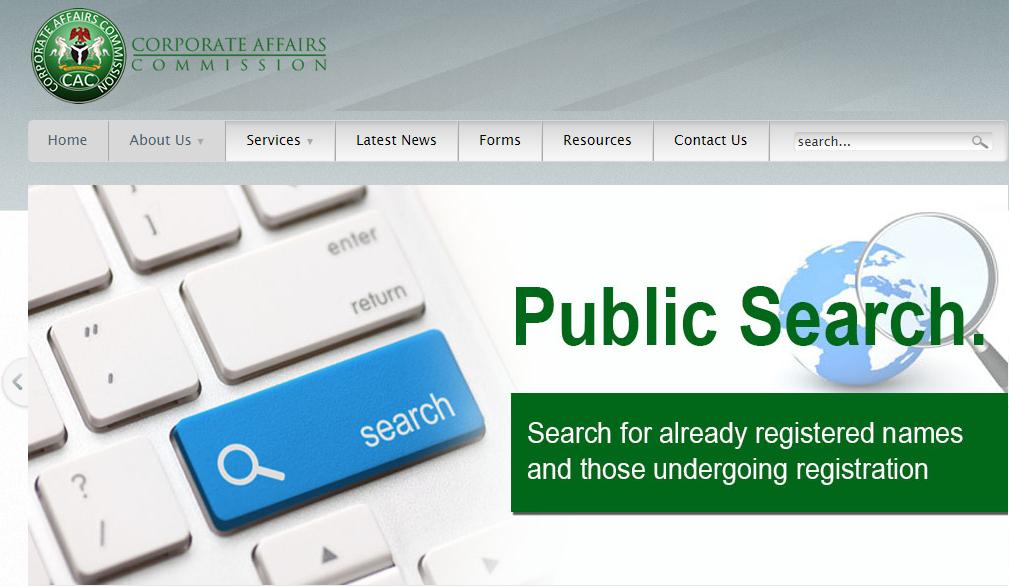 cac public search