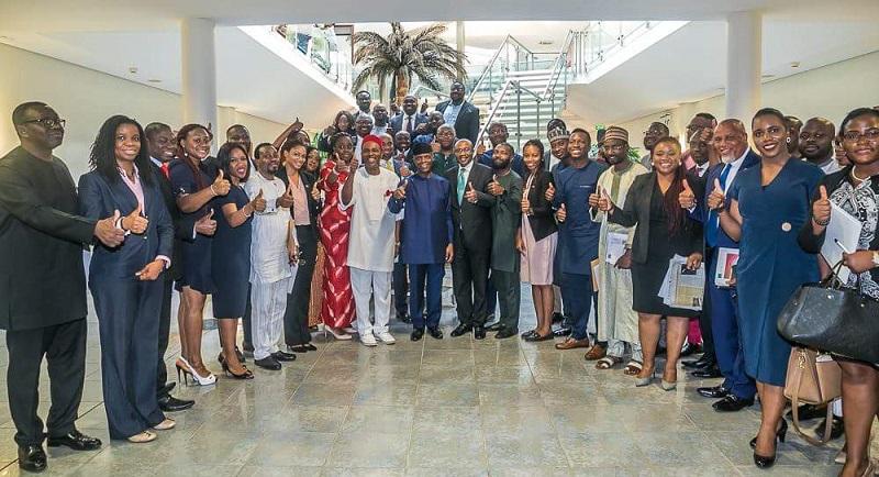 VP Osinbajo visits Silicon Valley with Nigerian tech entrepreneurs