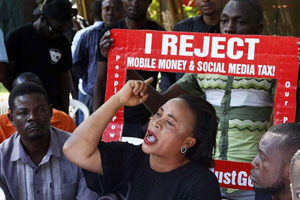 uganda social media