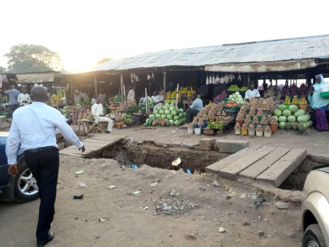 Railway Station Fruit Market Kaduna