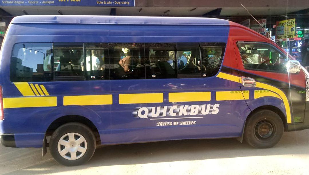Kenyan bus booking platform, QuickBus raises six-figure round, plans launch in Nigeria and Ghana