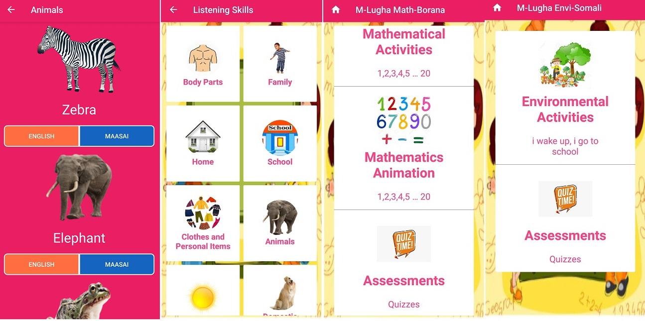 M Lugha mobile app