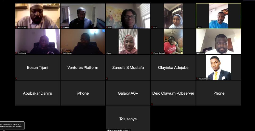 Members of NITDA covid 19 1