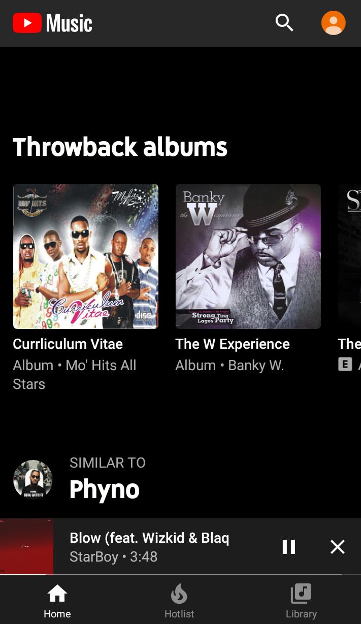 Throwback albums