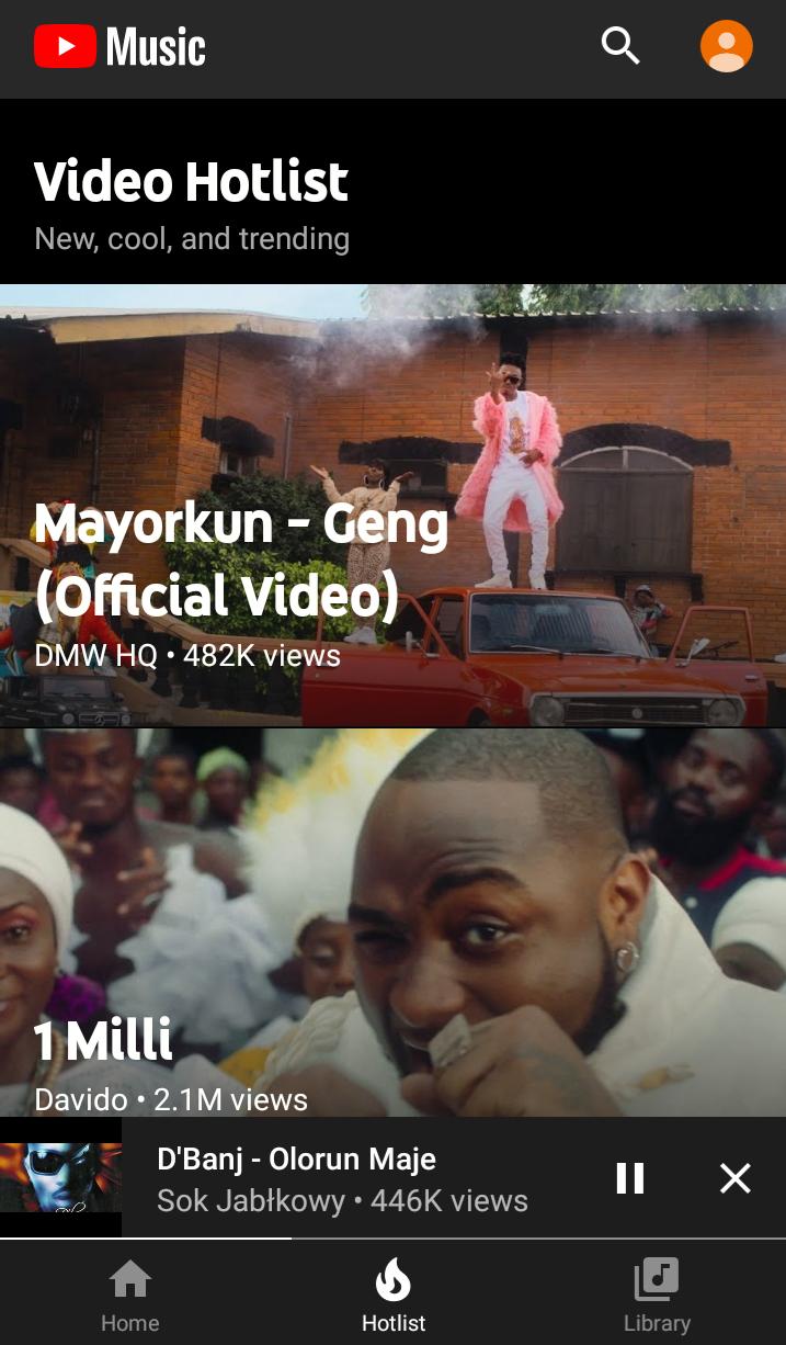 Video Hotlist