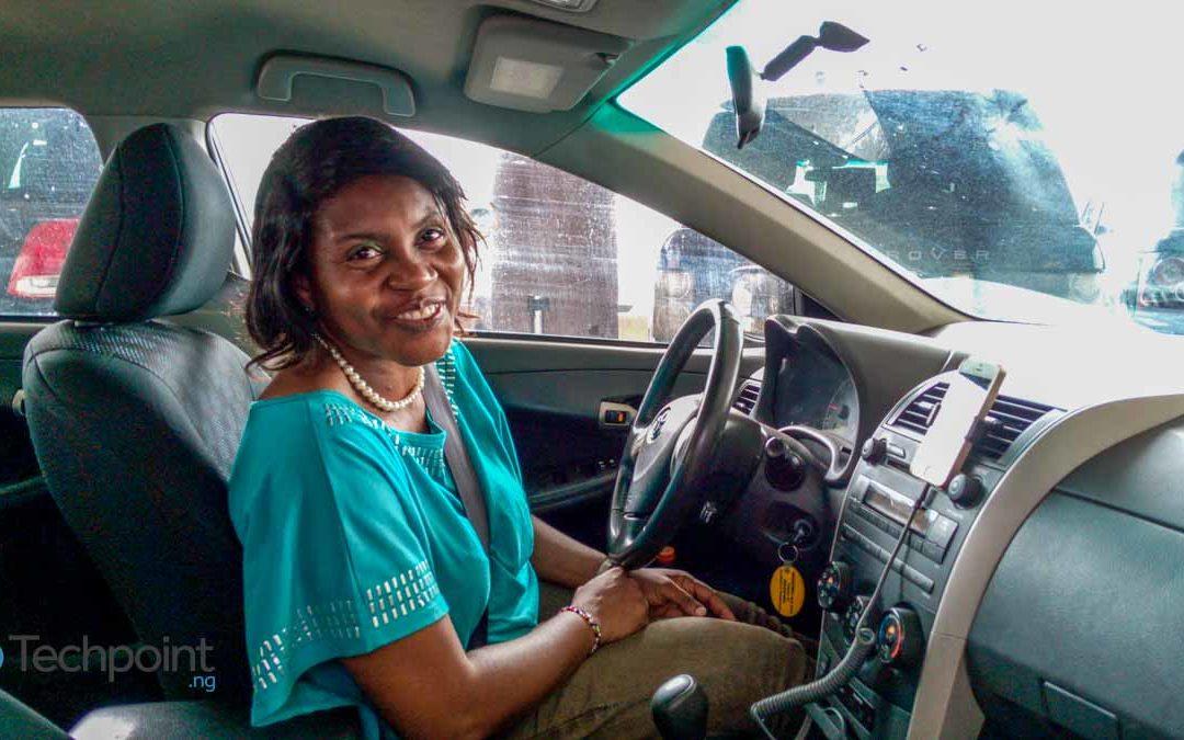 Meet the 'Angelina Jolie' of Uber Lagos