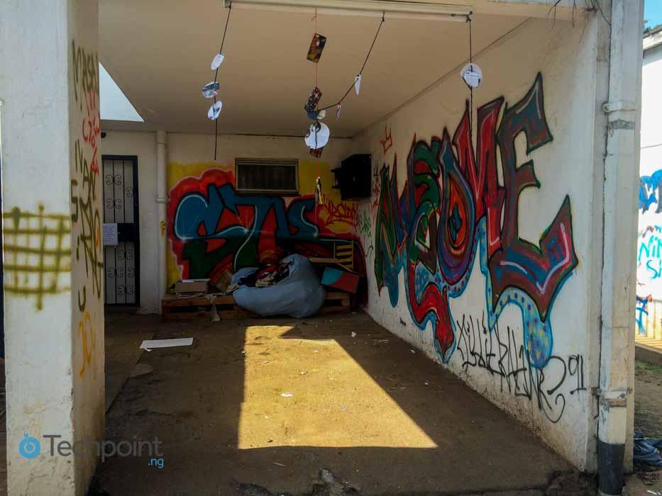 Outside AB3D workshop