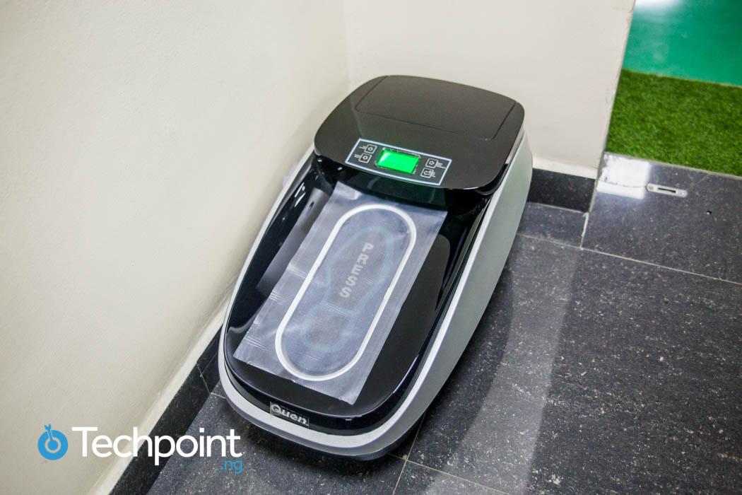 AfriOne Automatic Shoe Cover Dispenser machine