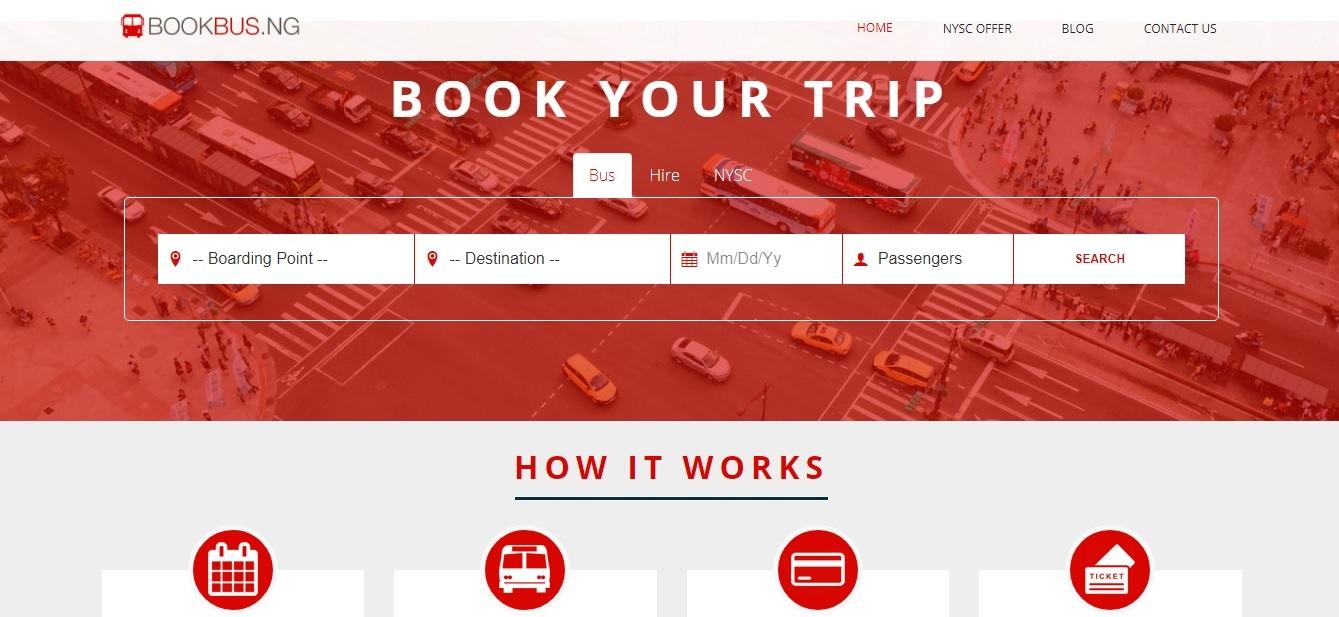 BookBus Homepage