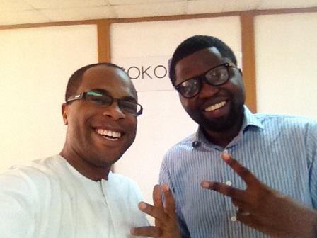 L-R: CEO, Mike Dola and COO, Olufemi Aguda