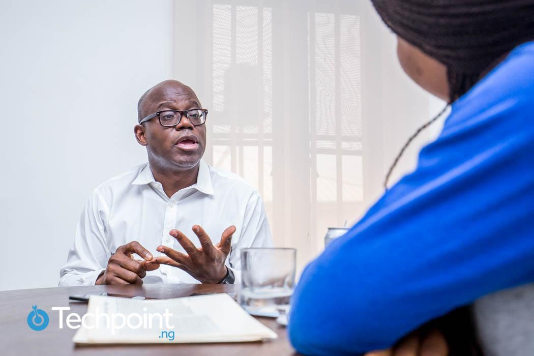 Aderemi Adejumo talking