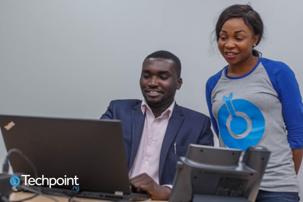 Joseph Sam and Techpoint's Onyinye