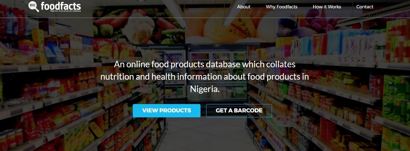 FoodFacts website