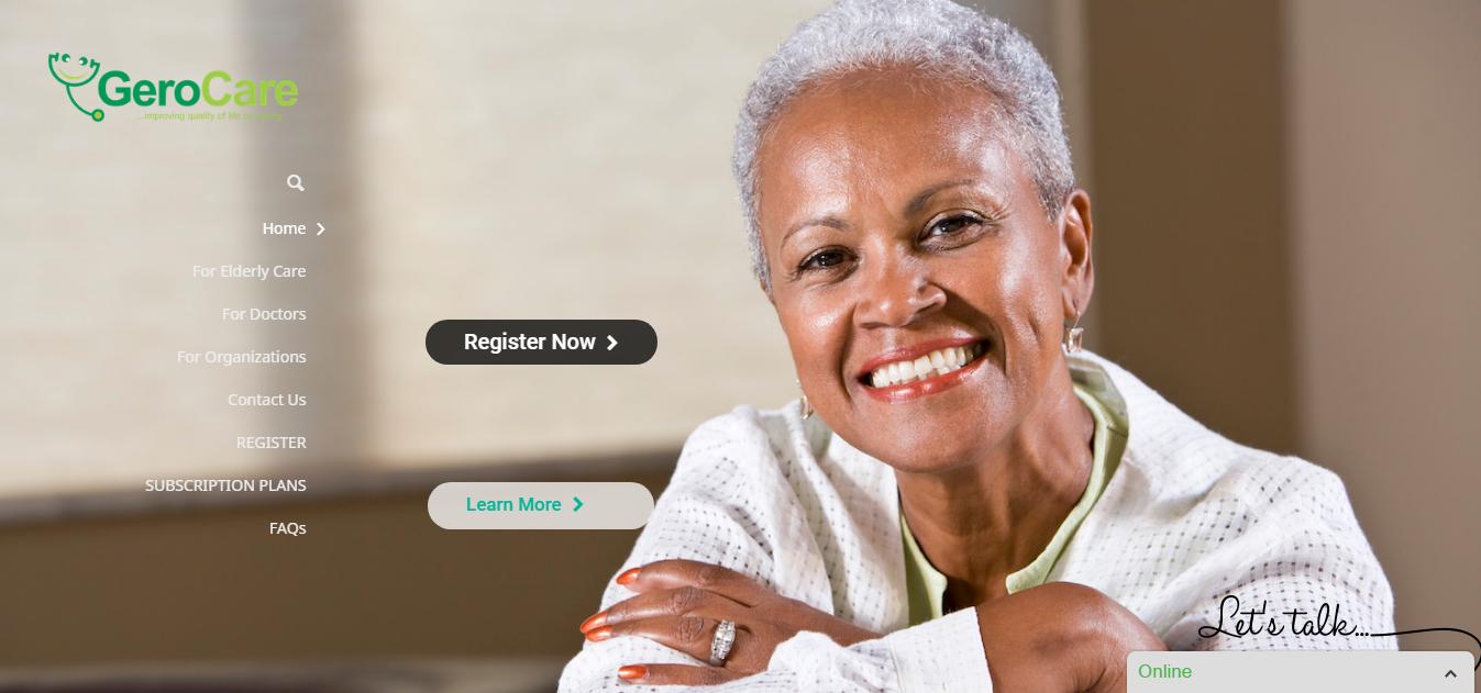 Gerocare website