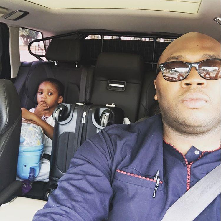 Jason Njoku and son