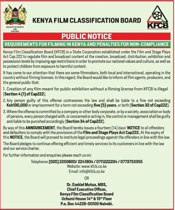 Kenya social media