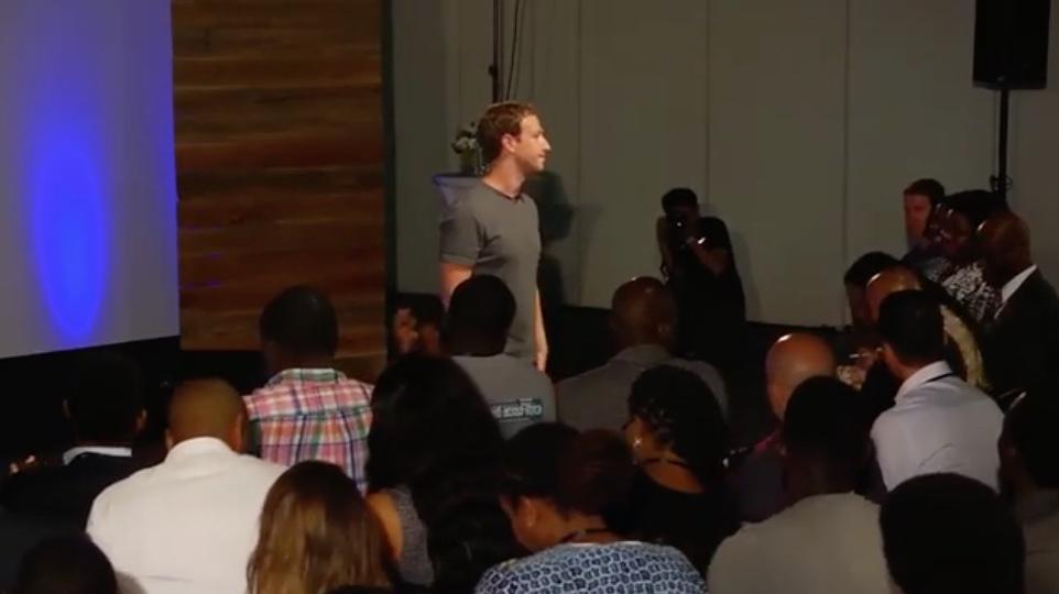 Mark Zuckerberg Lagos Town Hall Meeting 09