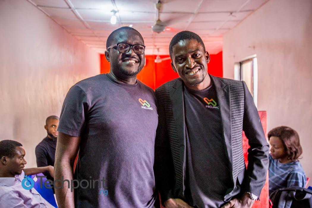 L-R: Emmanuel Enemakwu, Dimgba Kalu