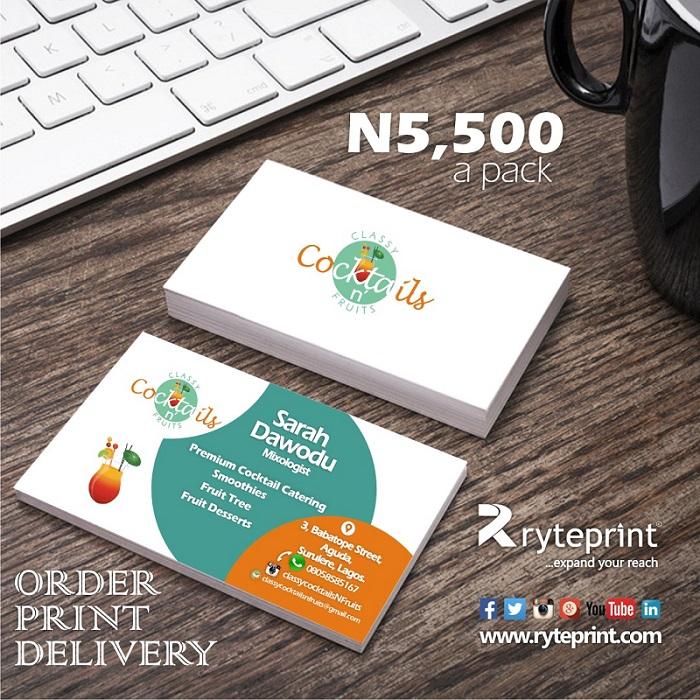 Ryteprint Business Cards Ad 2