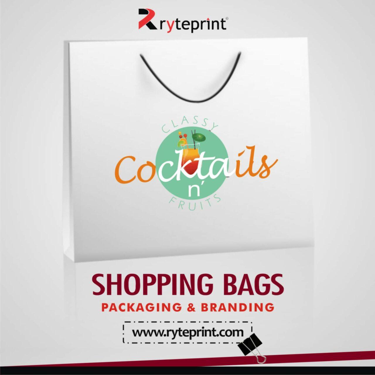 Ryteprint Paper Bags Ad