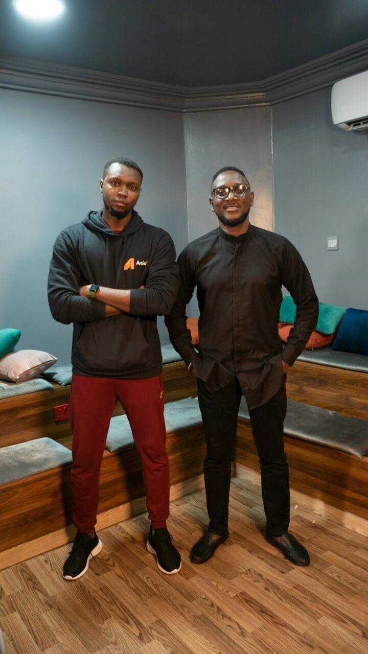 Ukeme Okuku and Ferdinand Adimefe Artist3 Founders 1 scaled