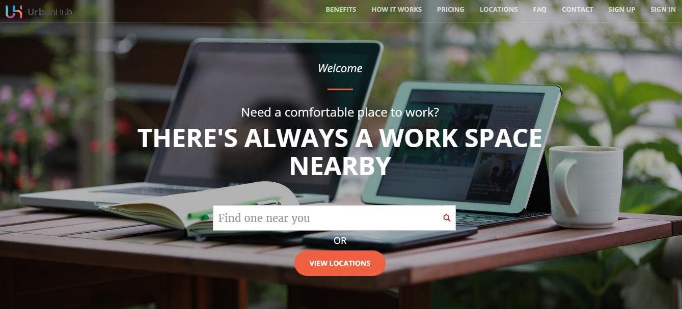 UrbanHub Homepage