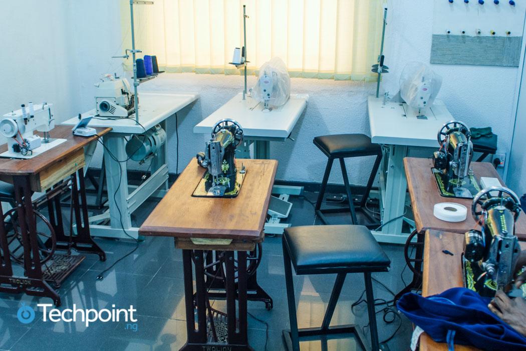 Sewing machines at 360 Creative Hub