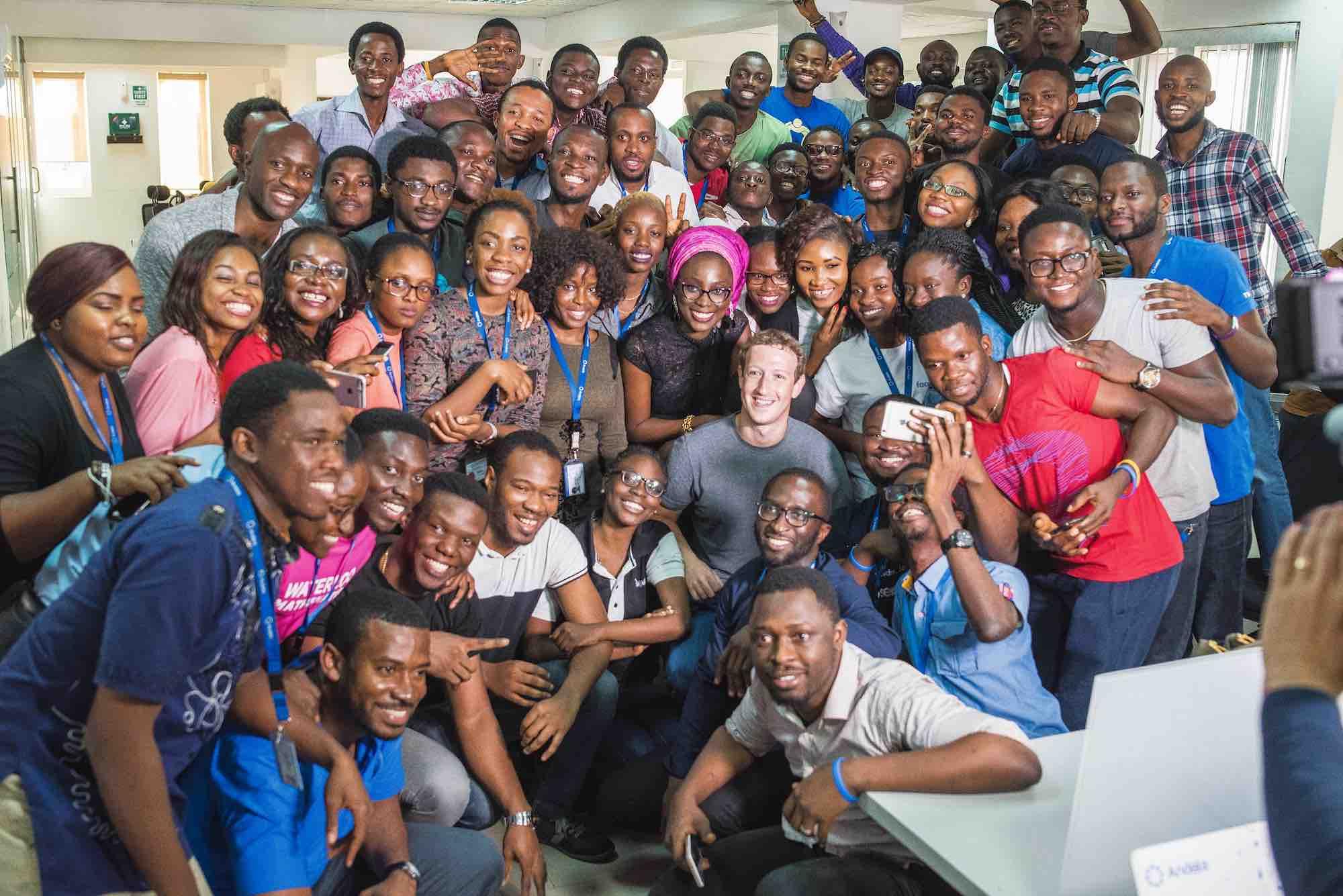 Zuckerberg-with-Andela-Lagos-team