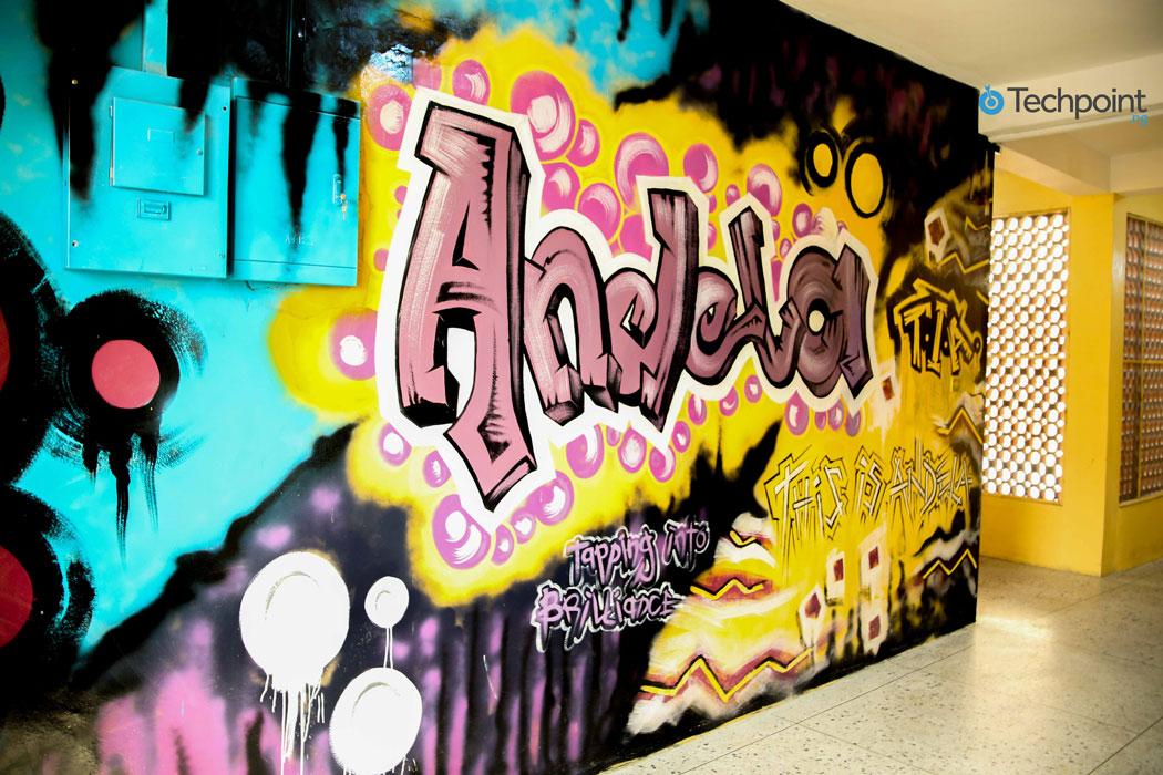 andela wall