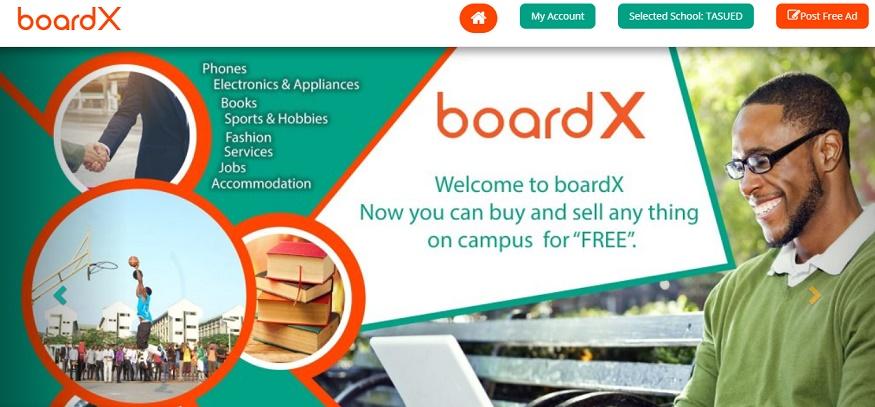 boardX website