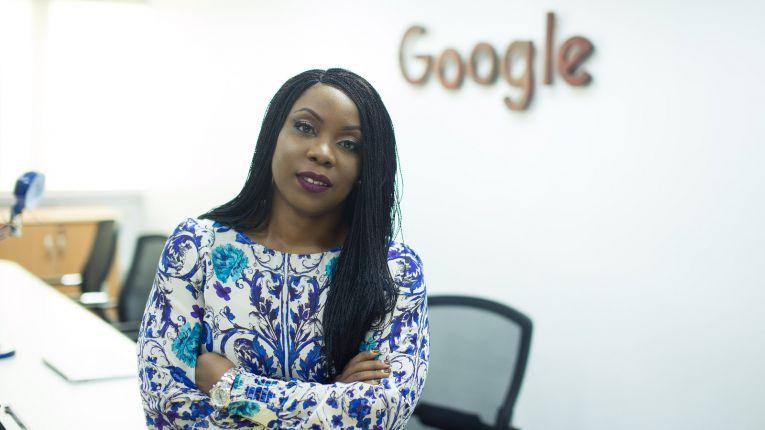 Bunmi Banjo at Google office