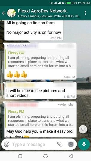 farmer whatsapp group