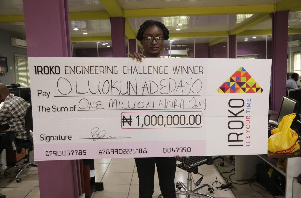 Oluokun Adedayo, another OAU Graduate, is iROKOtv's 2nd Millionaire Engineer!