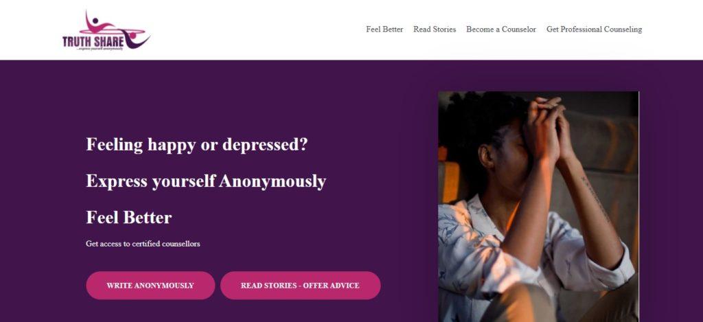 Truthshare homepage 1