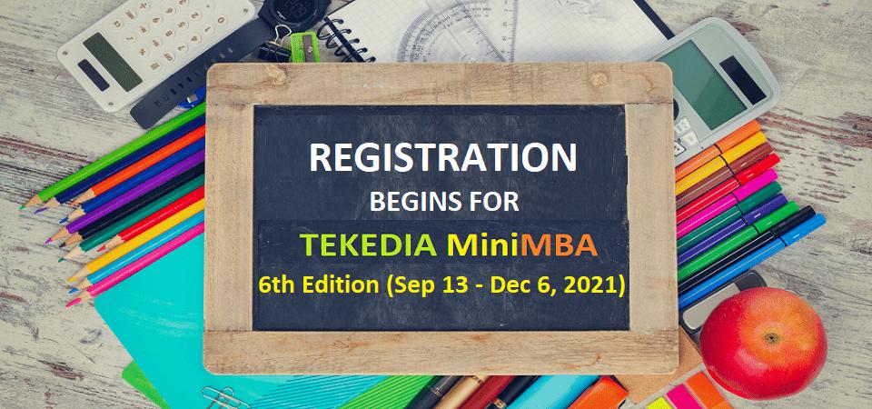 inside before Tekedia MiniMBA section