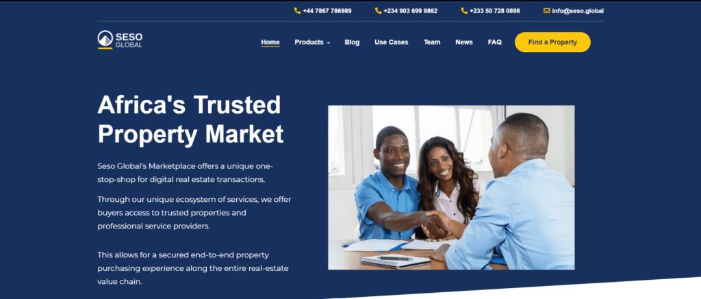 Seso Global Homepage