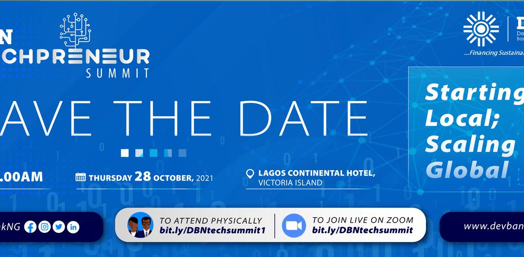Open Invitation to the DBN Techprenuer Summit